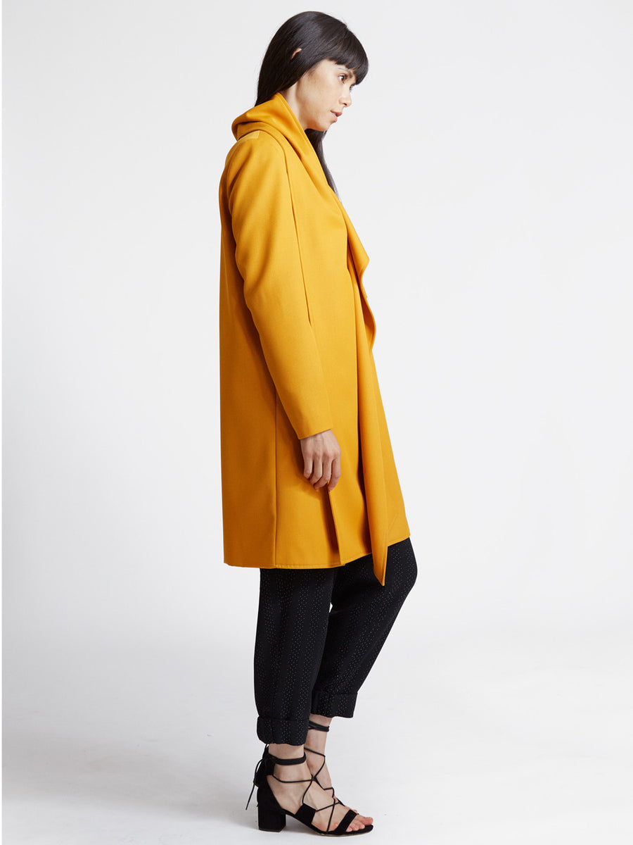 Gabardine Interlock Coat