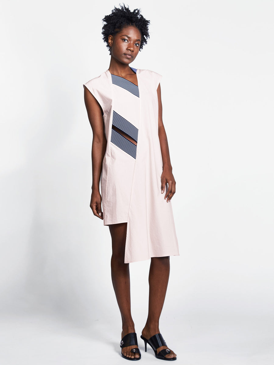 Parallel Neck Dress