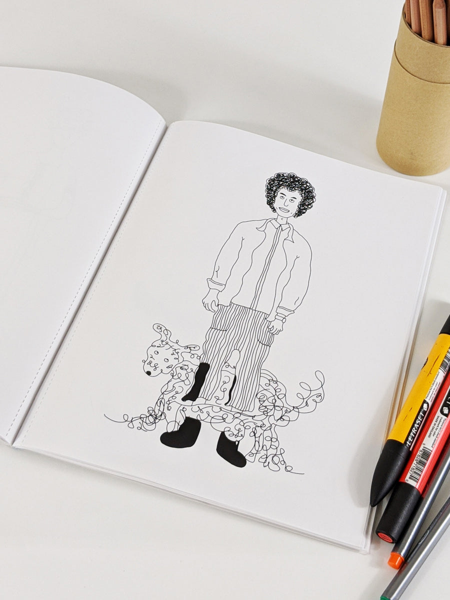 Strut with Pup Fashion Coloring Book by Jenny Lai and Icy Tan