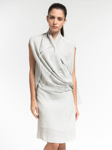 Wrap Cape Dress