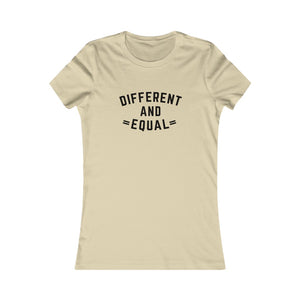 Different and Equal Women's T-shirt