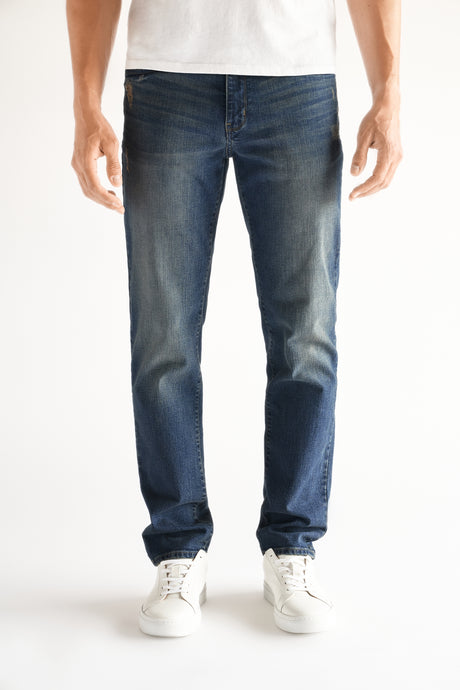 Slim Fit Men's Jean - Anson Wash
