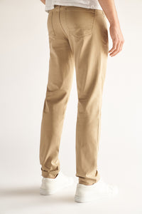 Slim Fit Men's Jean - Tan