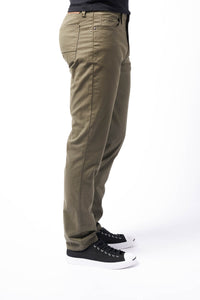 Slim Fit Men's Jean - Mural Olive