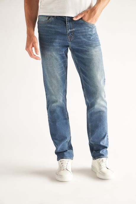 Slim-Straight Fit Men's Jean - Ash Wash