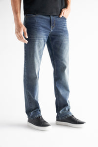 Straight Fit Men's Jean - Granville Wash