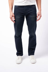 Straight Fit Men's Jean - Cornelius Wash