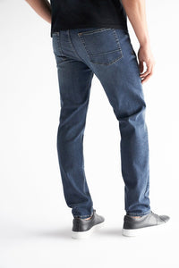 Athletic Fit Men's Jean - Burke Wash