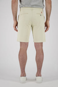 Men's Chino Short -  Ivory Smoke