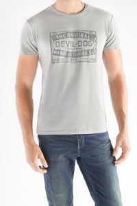 Patch Tee - Grey