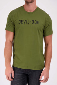 DEVIL-DOG TEE - Army Green