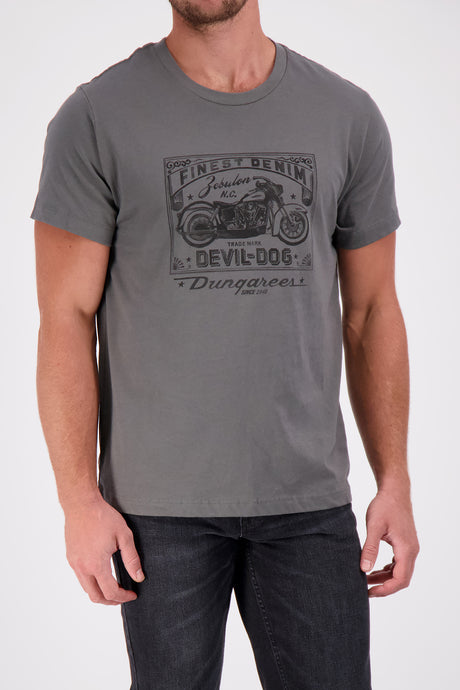 DEVIL-DOG Motorcycle - Tee