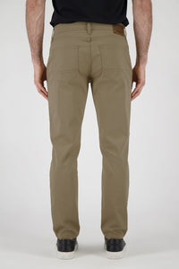 Athletic Fit Men's Jean - Khaki