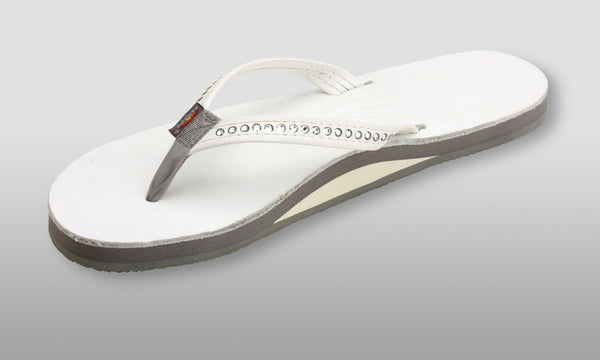 Premier Leather Crystal Collection White