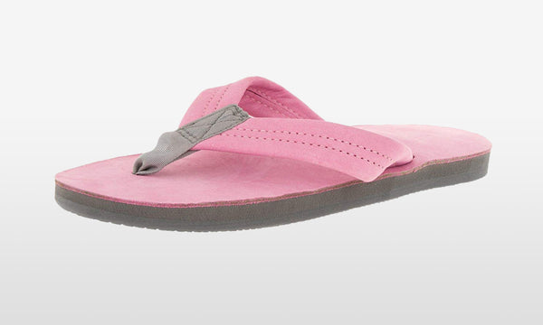 Premier Leather Wide Strap Pink