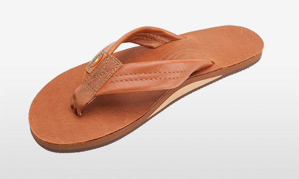 Classic Leather Wide Strap Tan