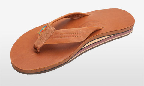 Classic Leather Double Layer Tan