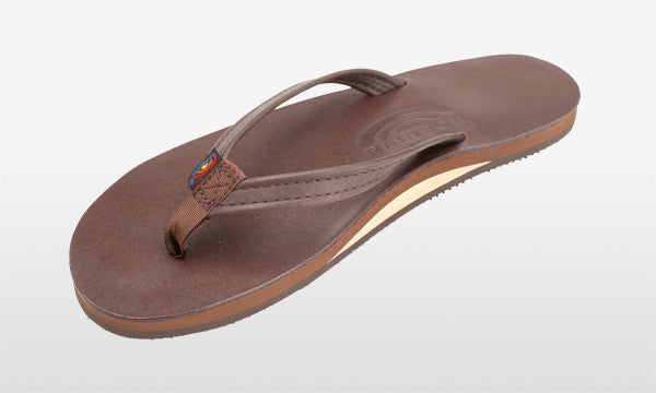 Classic Leather Narrow Strap Mocha