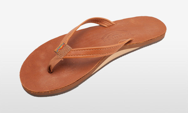 Classic Leather Narrow Strap Tan