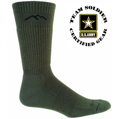 14021 Darntough Tactical Boot Sock - Merino Mid-Calf Cushion Graphite