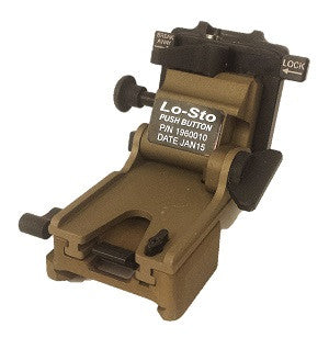 Norotos LoSto Push-Button - NVG Helmet Mount Assembly
