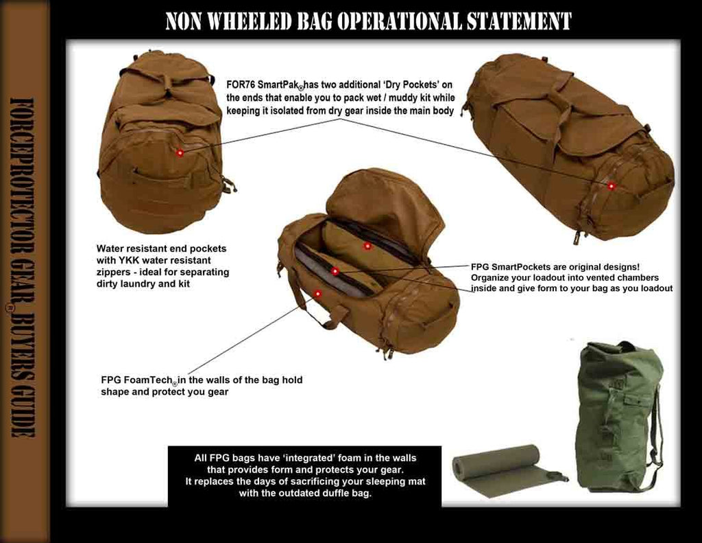 Forceprotector Gear FOR76 SmartPak Combat Deployment Bag