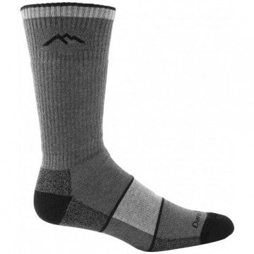 81441 Darntough Tactical Boot Sock - CoolMax Mid-Calf Full Cushion Charcoal