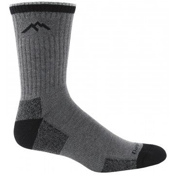 81467 Darntough Tactical Boot Sock - CoolMax Micro Crew Cushion Charcoal