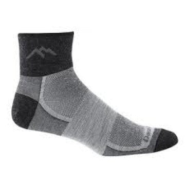 81488 Darntough Tactical PT Merino Wool 1/4 Sock Cushion - Graphite