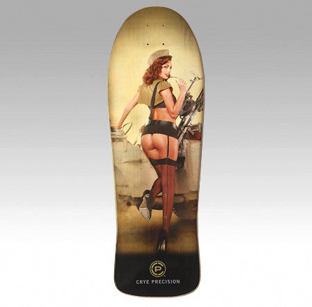 "Crye Precision Hot Shots Skate Decks - ""Soldier On"""