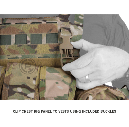 Crye Precision AIRLITE® Convertible Chest Rig