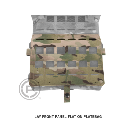 Crye Precision AIRLITE® Detachable Flap, MOLLE