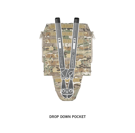 Crye Precision Pack Zip-On Panel 2.0 [SPECIAL ORDER]
