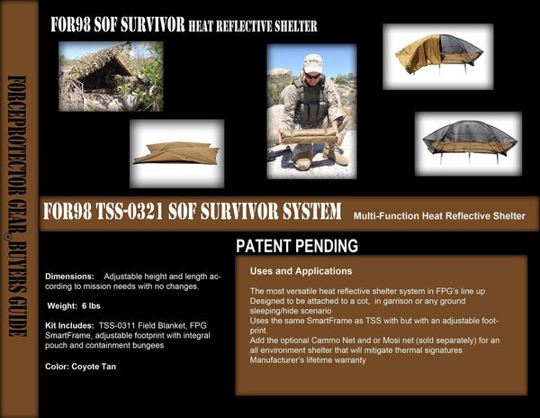Forceprotector Gear SOF Survivor System