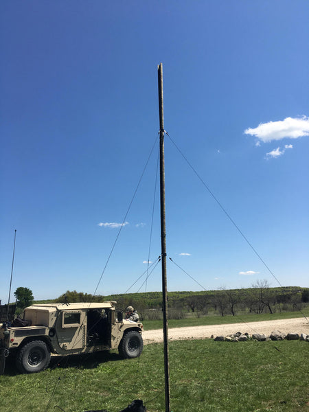 RolaTube 7m Integrated Antenna Mast (IAM) (30-88MHz & 225-512MHz)