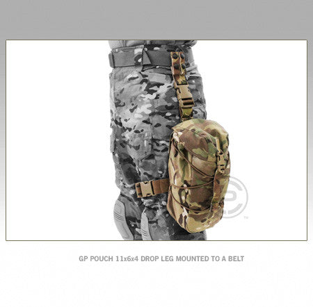 Crye Precision Smart Pouch Suite - GP Pouch 11x6x4 Drop Leg Mount