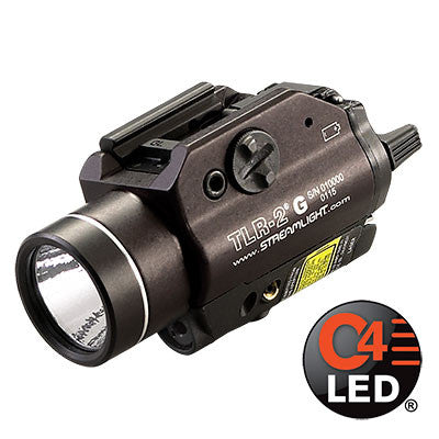 Streamlight TLR-2 G Tactical Gun Light with Green Aiming Laser