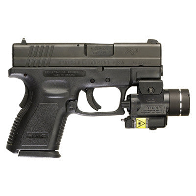 Streamlight TLR-4 Compact Tactical Gun Light with Integrated Red Aiming Laser