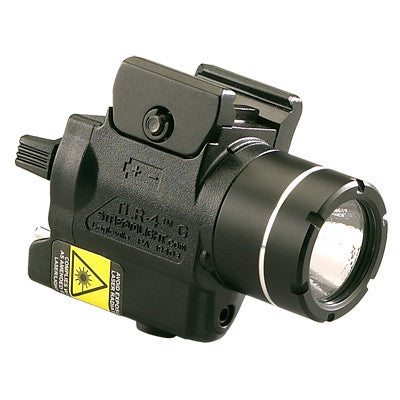 Streamlight TLR-4 G Compact Tactical Gun Light with Integrated Green Aiming Laser