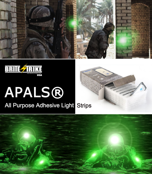 Brite-Strike All Purpose Adhesive Light Strips (APALS)
