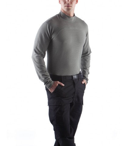 Massif Breeze Long Sleeve Mock Neck Shirt - FR