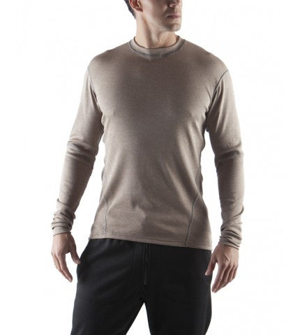 Massif Hot Johns Crew Long Sleeve Mid Layer - FR