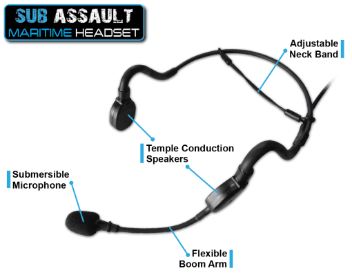 TEA Sub Assault Headset [SPECIAL ORDER]