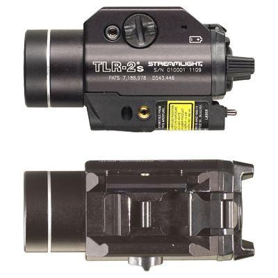 Streamlight TLR-2 Tactical Gun Light with Red Aiming Laser and Strobe Feature