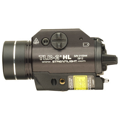 Streamlight TLR-2 HL Tactical Gun Light with Red Aiming Laser