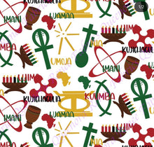 Load image into Gallery viewer, Kwanzaa Print - Pre-order