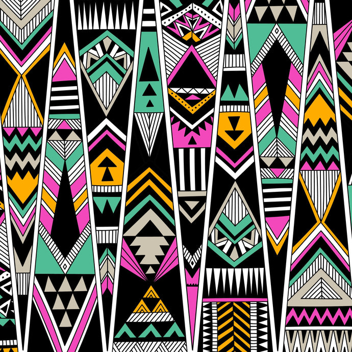 Inspired African Print - Triangles