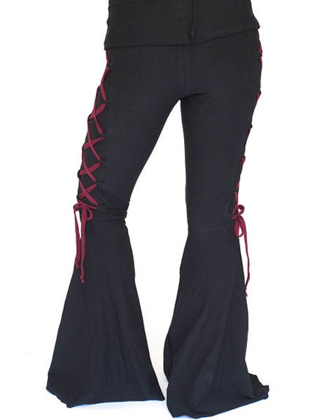 Contrast Corset Flares