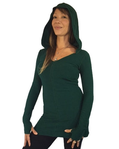 Hooded Thumbelina Tunic
