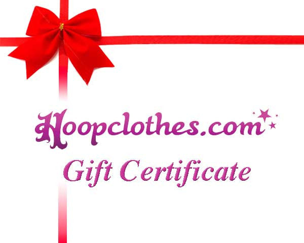 Hoopclothes Gift Certificate